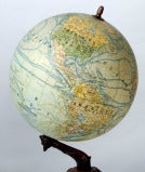 Antique French Globe on Cast Iron Base ~ Saturday Sale ~ image 3