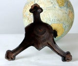 Antique French Globe on Cast Iron Base ~ Saturday Sale ~ image 7