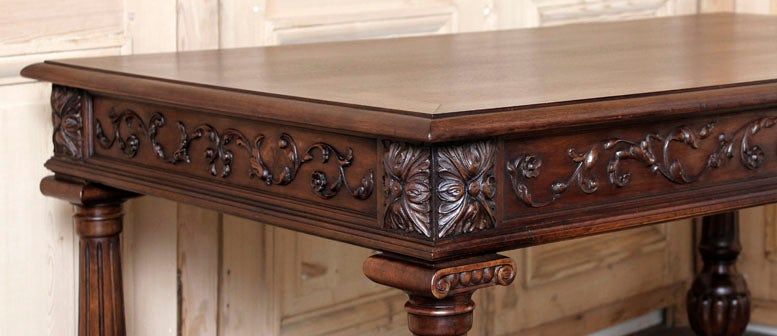 Antique Henri Ii Bureau Plat At 1stdibs