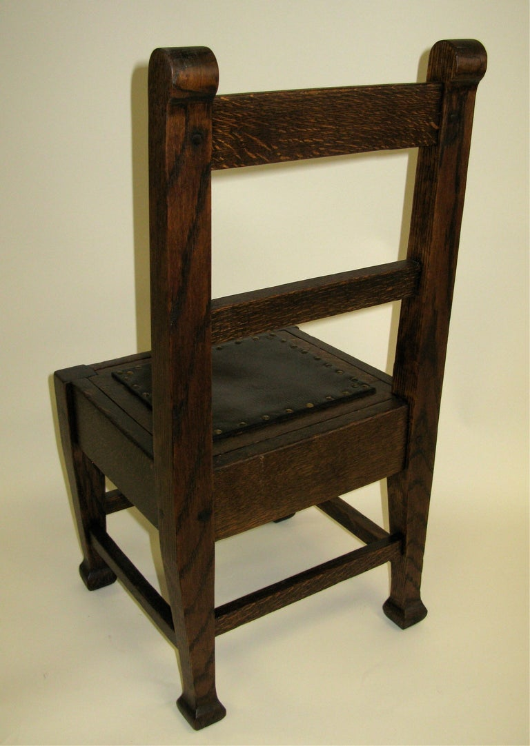 1910 Roycroft Child s Chair at 1stdibs