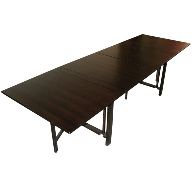 1950 Bruno Mathsson Maria Gateleg Table Dark Walnut Finish  : XXXIMG5134 from www.1stdibs.com size 768 x 768 jpeg 30kB