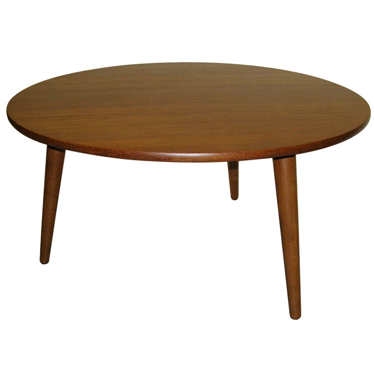 Great 1950 Hans Wegner For Andreas Tuck Coffee Table At 1stdibs
