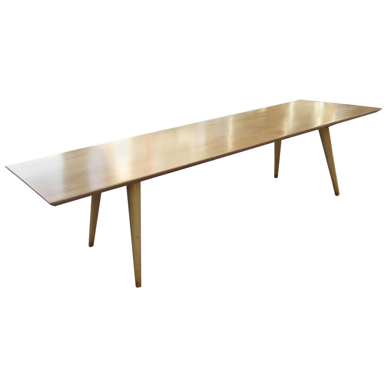 1950 Paul Mccobb 60 Inch Birch Bench For Sale At 1stdibs