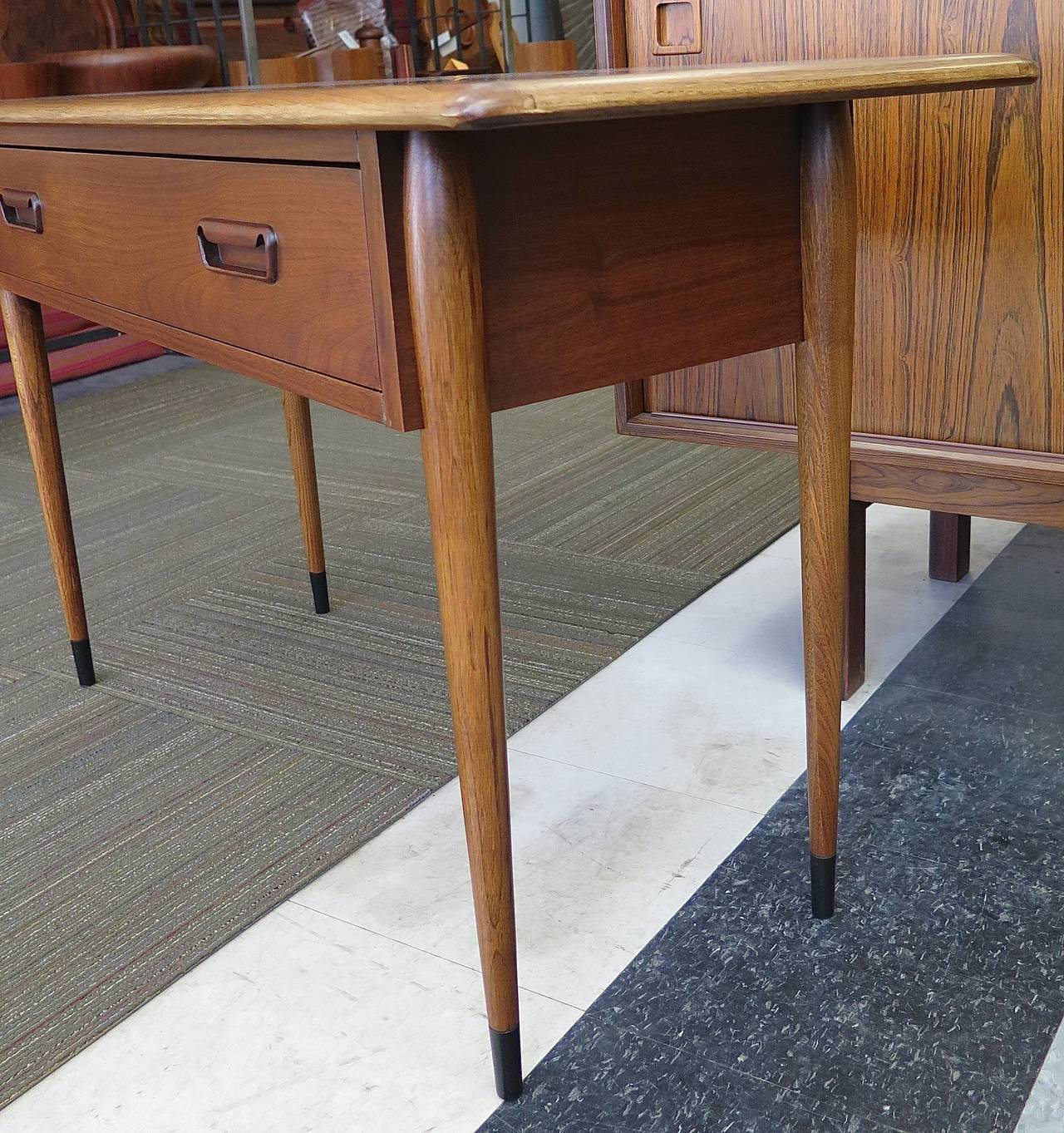 Lane Coffee Table With Drawers: 1950 Lane Dovetail Series, One-Drawer Stand At 1stdibs