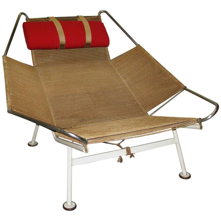 Extraordinary Hans Wegner Flag Halyard Chair at 1stdibs