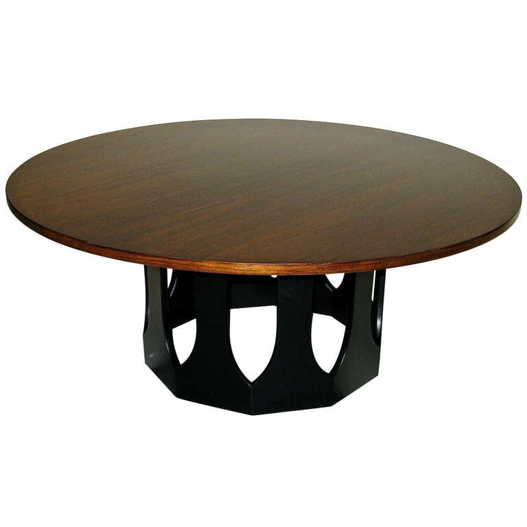 1960 Harvey Probber Gothic Base Coffee Table At 1stdibs