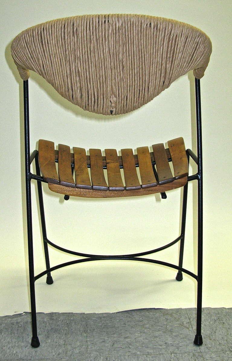 1950 Set Of 3 Chairs Arthur Umanoff At 1stdibs