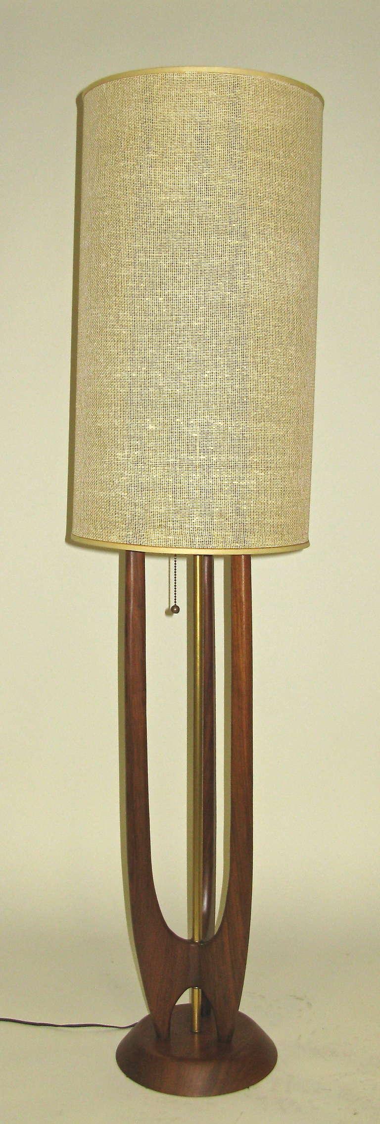 Versatile 1960 Adrian Pearsall Floor Lamp At 1stdibs