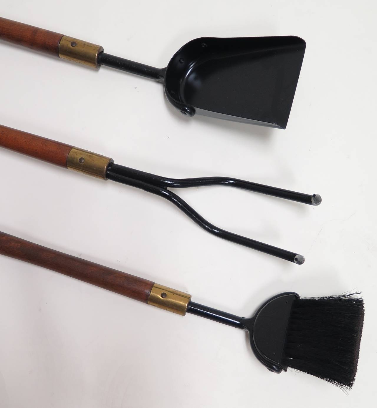 1950 seymour co heavy duty fireplace tool set at 1stdibs for Heavy duty garden tools