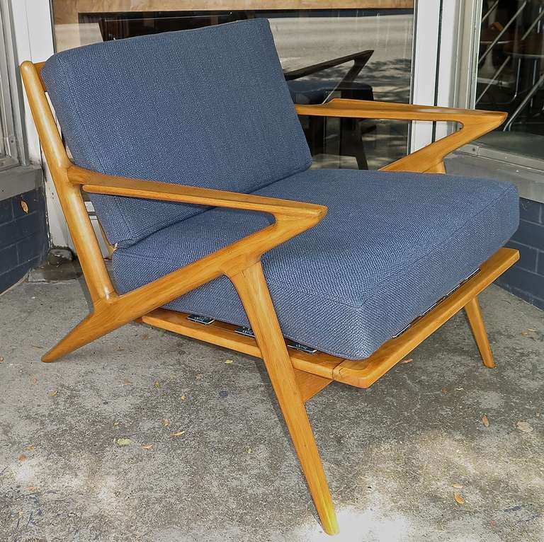 Unusual 1950 poul jensen for selig z lounge chair image 2 for Poul jensen z chair