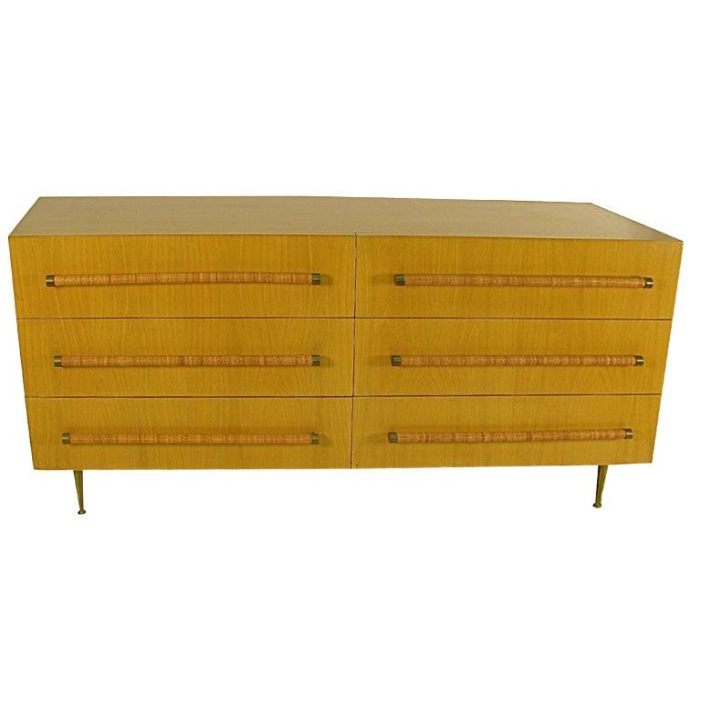 Widdicomb Furniture  Robsjohn Gibbings Design 6 Drawer Chest 1