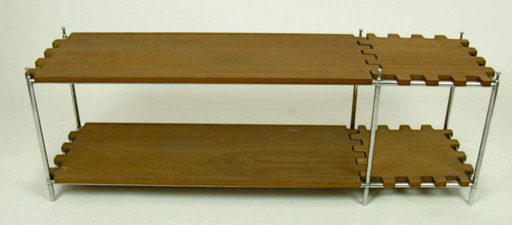 Very Cool Poul Cadovius System Abstract Bookshelf Kit At