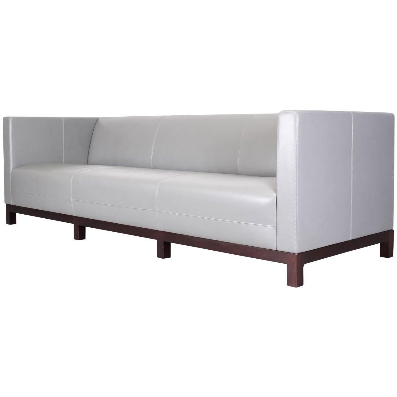 Christian liaigre sofa at 1stdibs for Sofa 75 cm tief