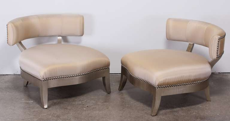 Pair Of Marge Carson Quot Santorini Quot Chairs At 1stdibs