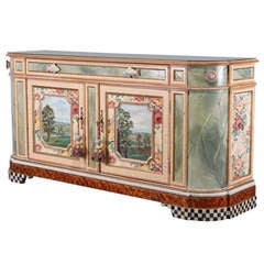 Mackenzie-Childs Whimsical Credenza or Buffet