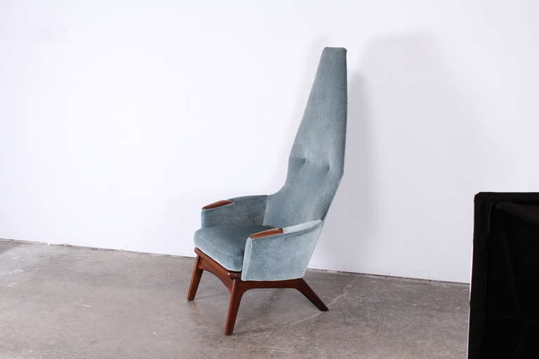 Mid-Century Modern Adrian Pearsall High Back Chair