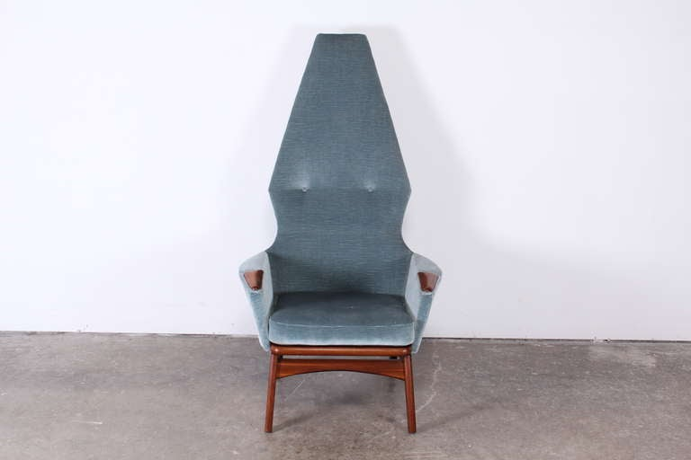 American Adrian Pearsall High Back Chair