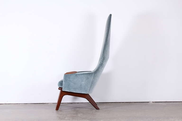 Mid-20th Century Adrian Pearsall High Back Chair