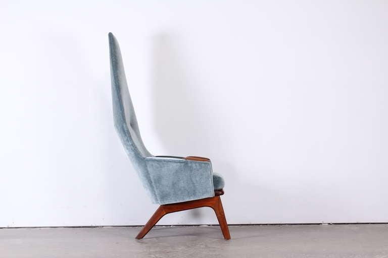 Walnut Adrian Pearsall High Back Chair