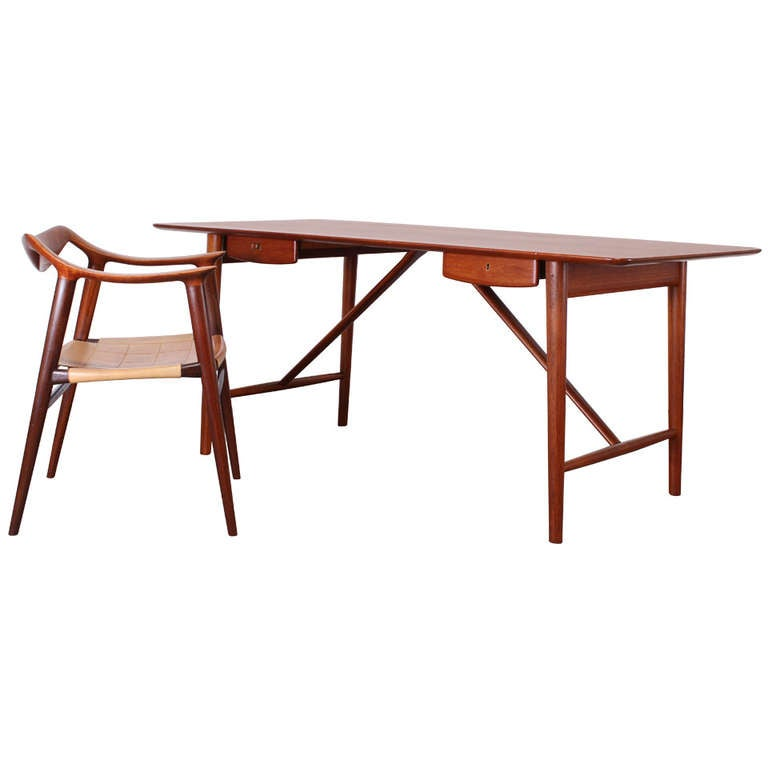 Danish Desk By Peter Hvidt And Orla M 246 Lgaard Nielsen And