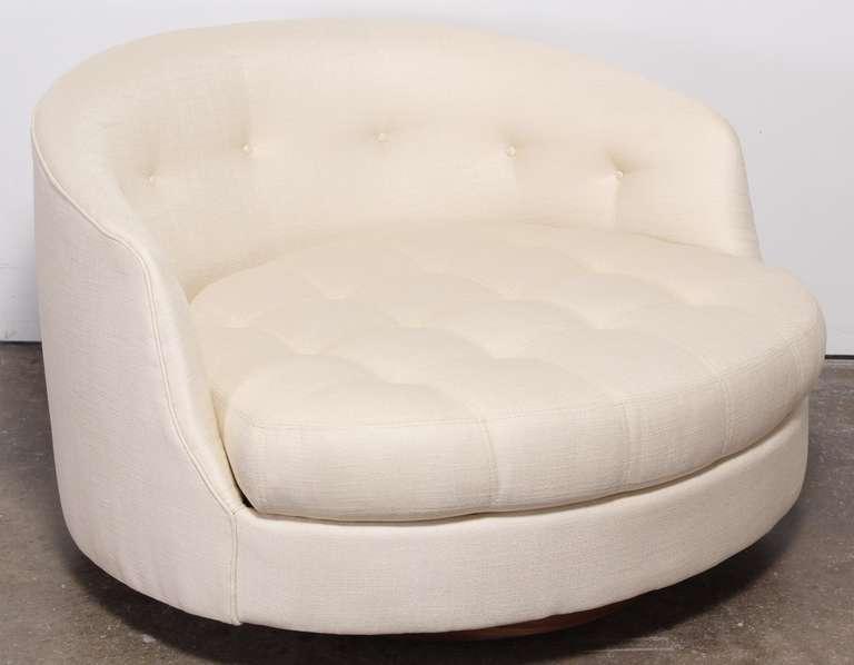 Milo Baughman Swivel Tub Chair For Thayer Coggin 2