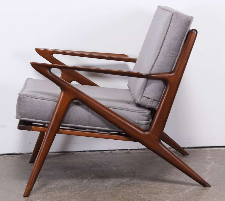 Poul Jensen Z Chair For Selig At 1stdibs