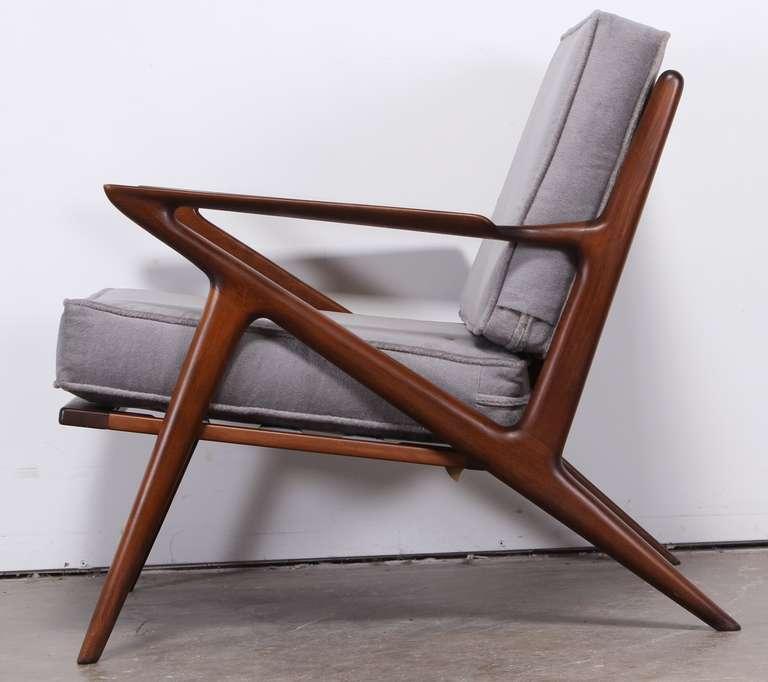 Beau Scandinavian Modern Poul Jensen Z Chair For Selig For Sale