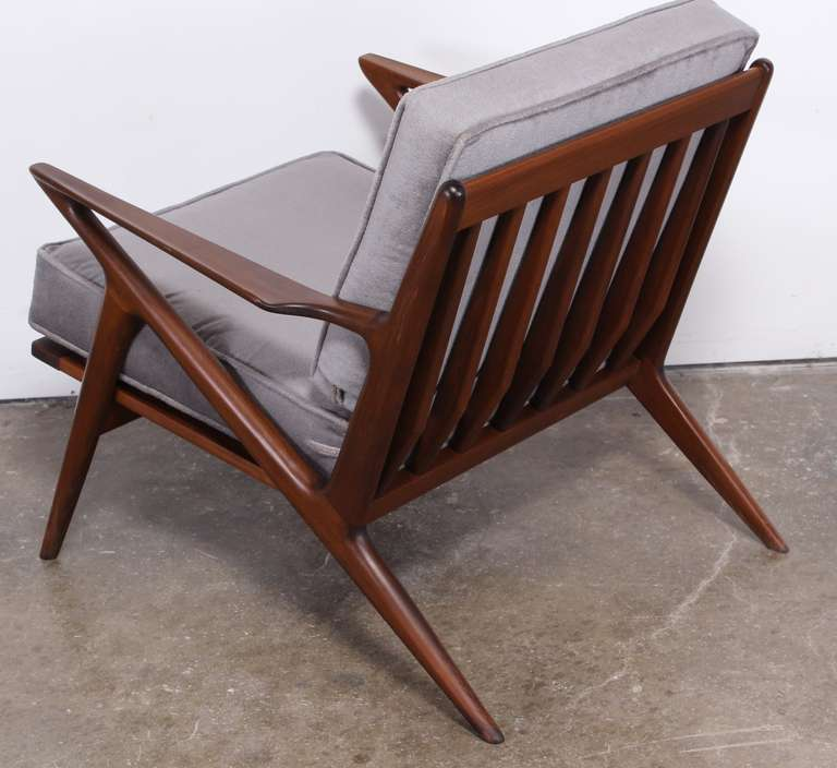 Poul jensen z chair for selig at 1stdibs - Selig z chair for sale ...