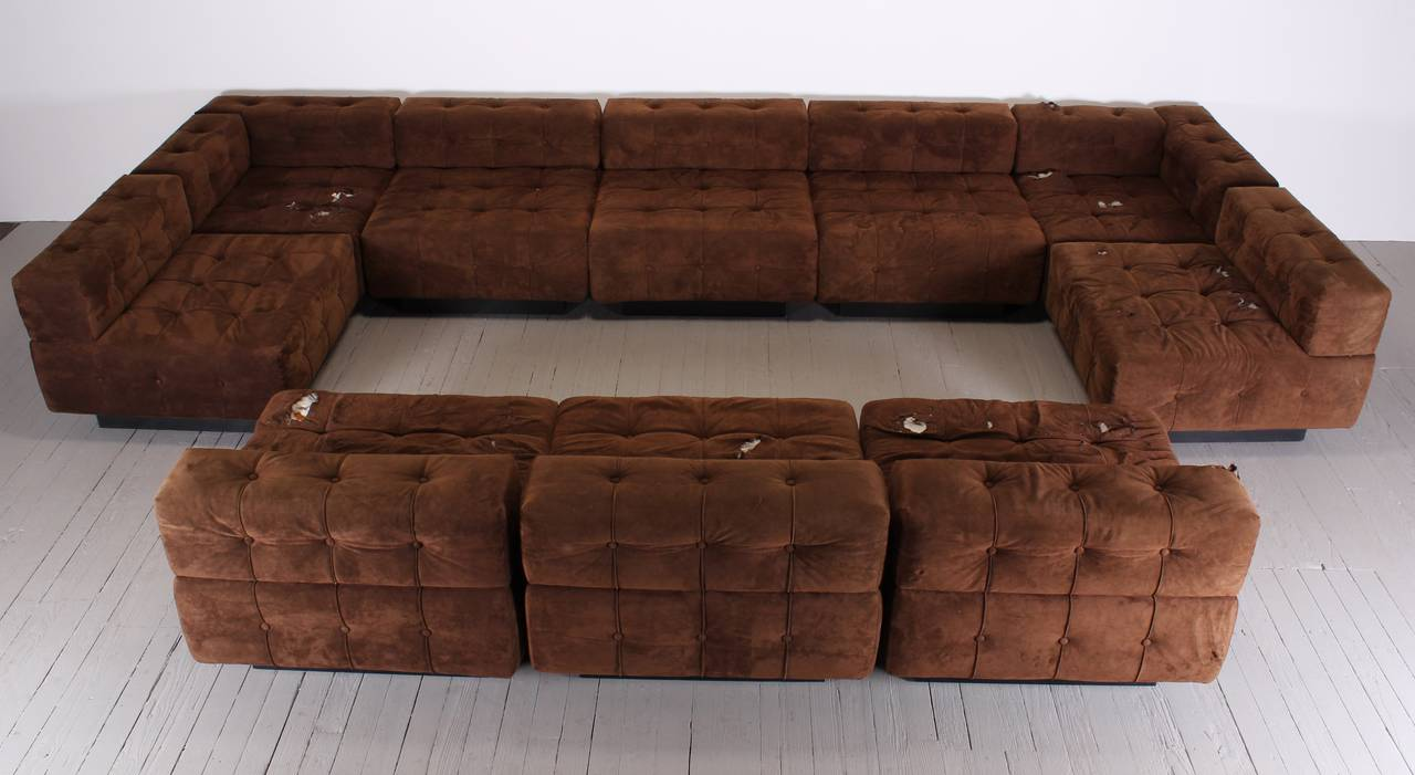 Picture of: Ten Piece Sectional Sofa By Harvey Probber 1970 At 1stdibs