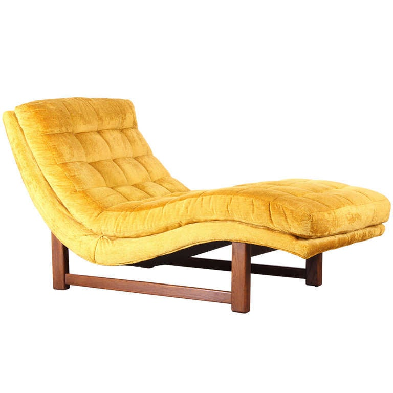 Adrian pearsall style chaise lounge at 1stdibs for Best price chaise lounge