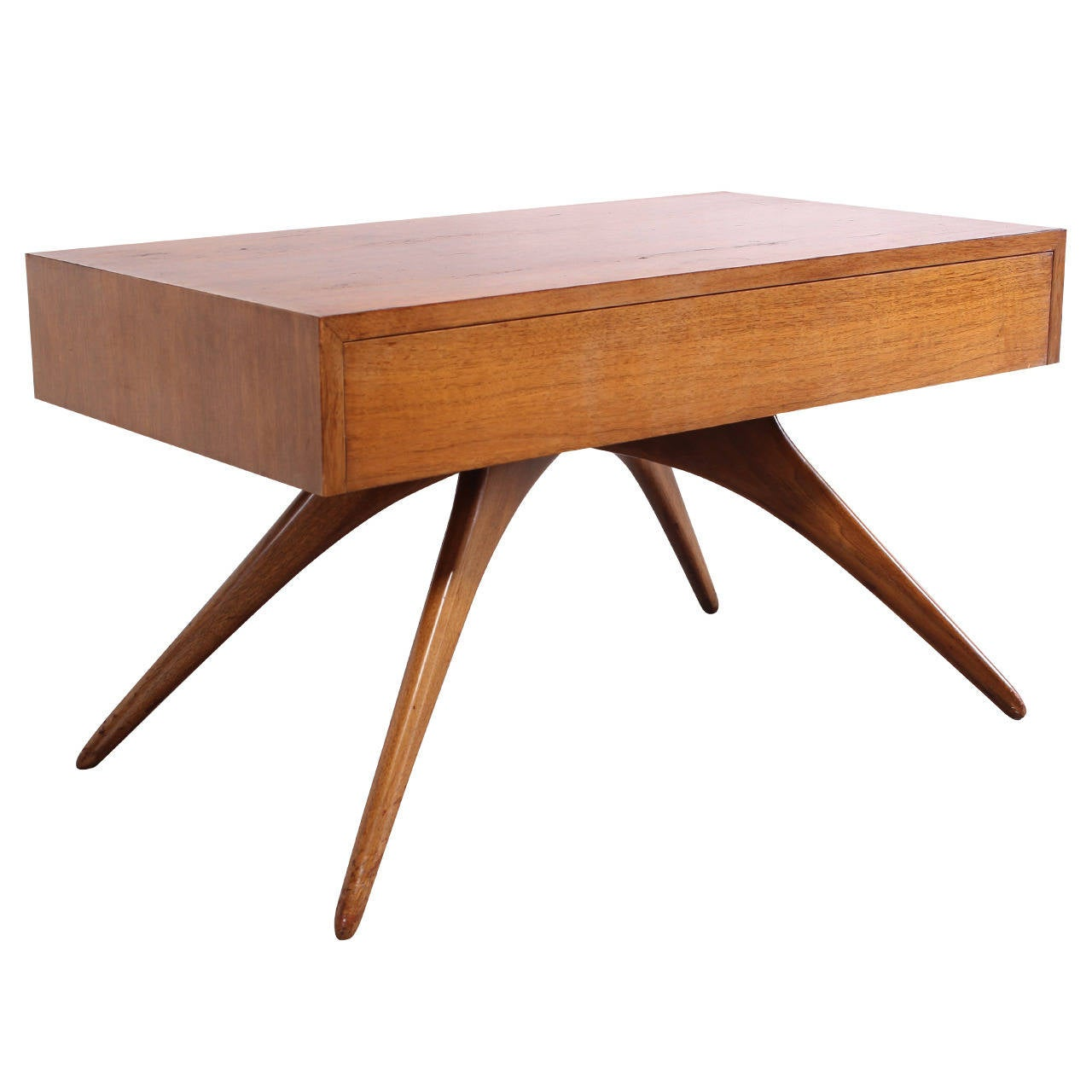 rare vladimir kagan one drawer table at 1stdibs