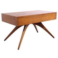 Rare Vladimir Kagan One Drawer Table