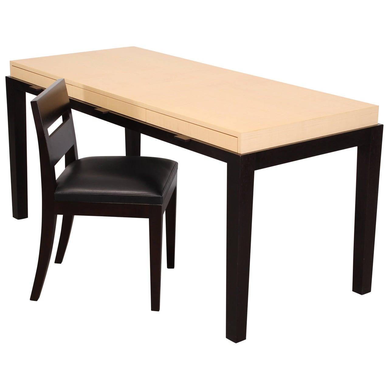 christian liaigre desk and chair bureau monsieur 1995 2003 at 1stdibs. Black Bedroom Furniture Sets. Home Design Ideas