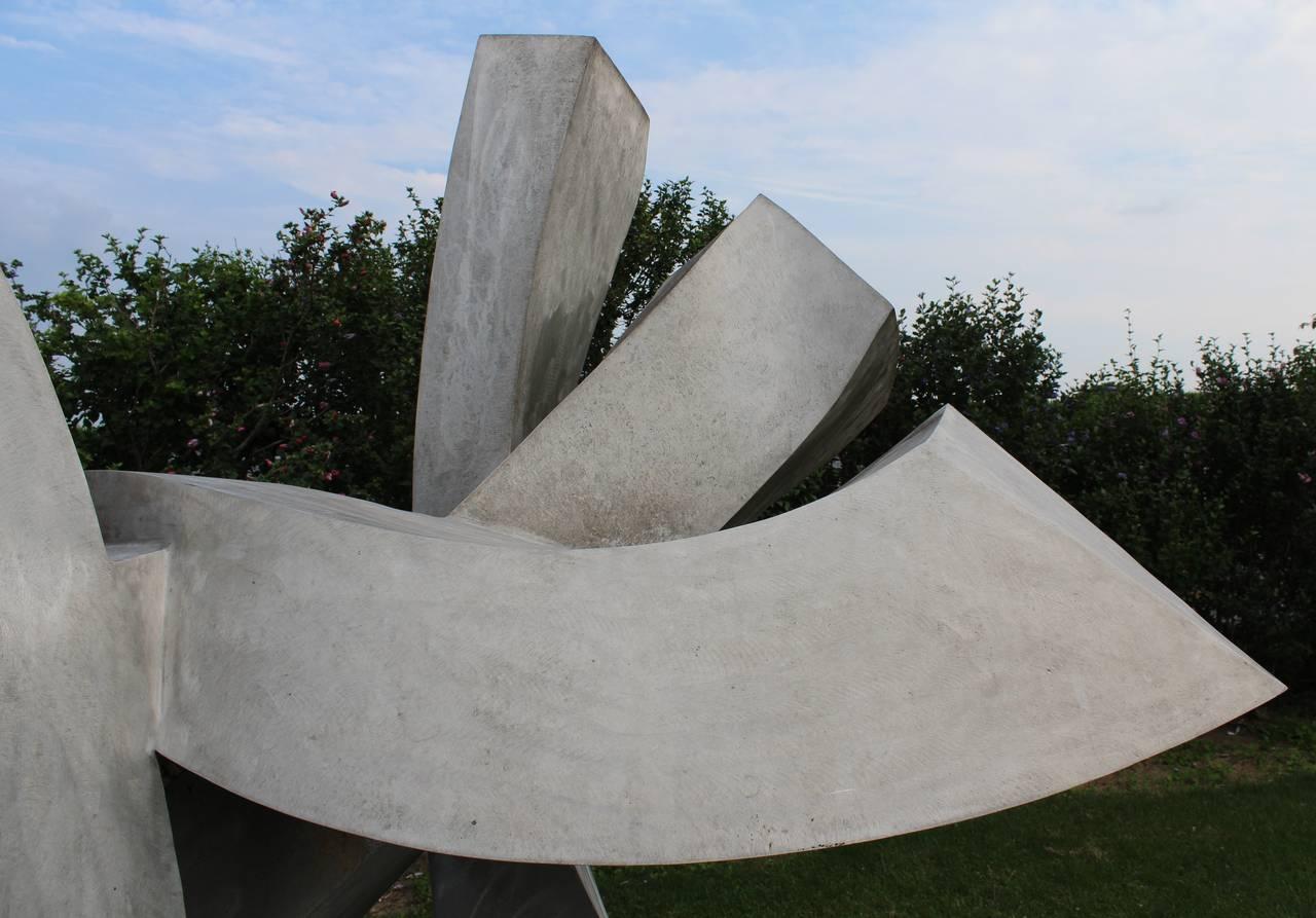 Monumental Outdoor Garden Sculpture By Jon Krawczyk, 1998