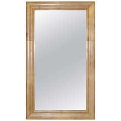A Parchment Mirror by Samuel Marx