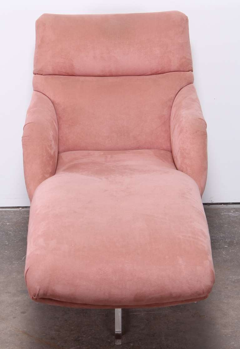 Vladimir kagan erica chaise longue at 1stdibs for Chaises longues doubles