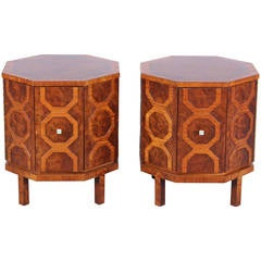 Pair of Romweber Side Tables or End tables, 1960