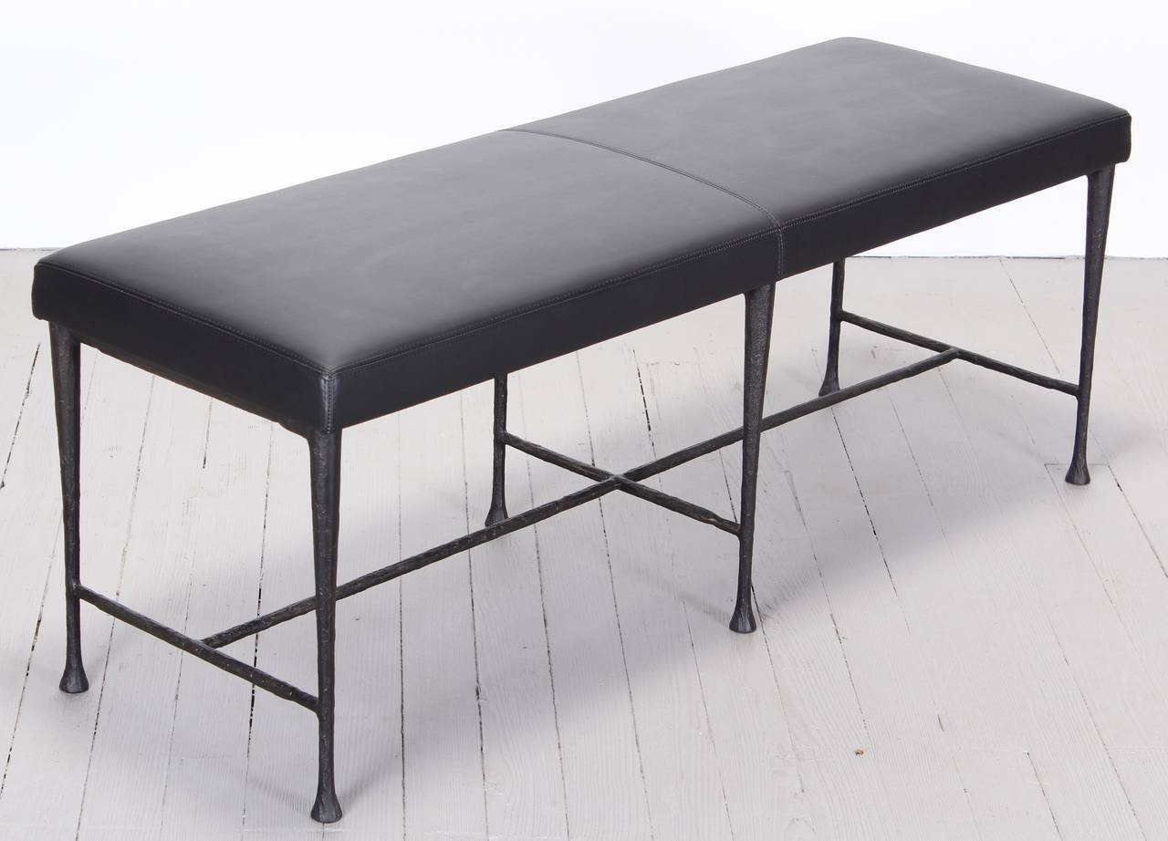 Christian Liaigre Giacometti Bench for Holly Hunt at 1stdibs