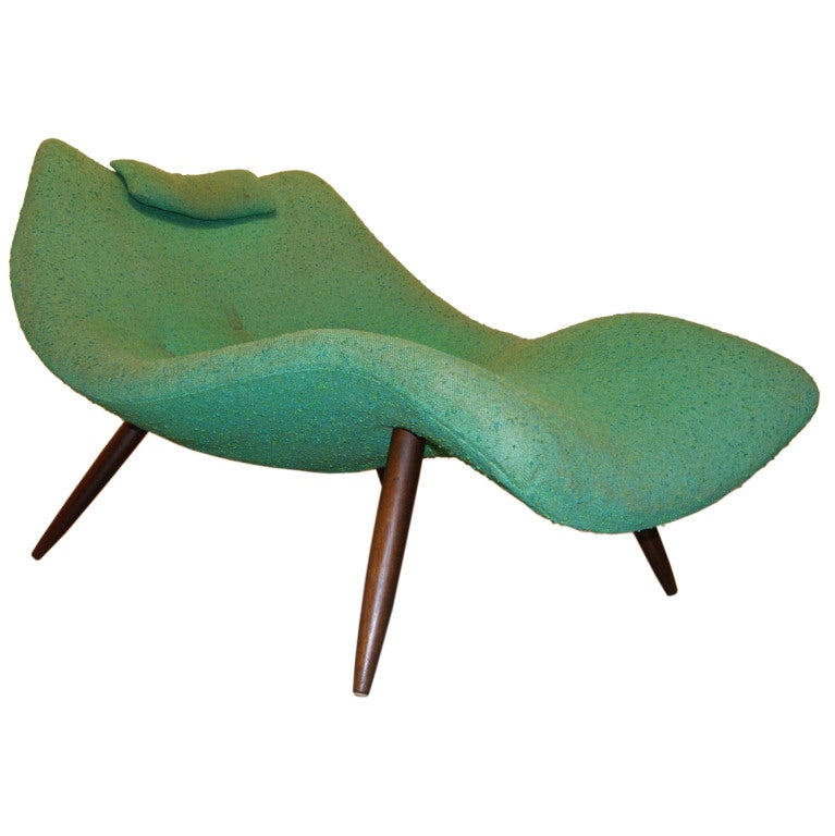 Rare Contour Chaise Lounge By Adrian Pearsall At 1stdibs