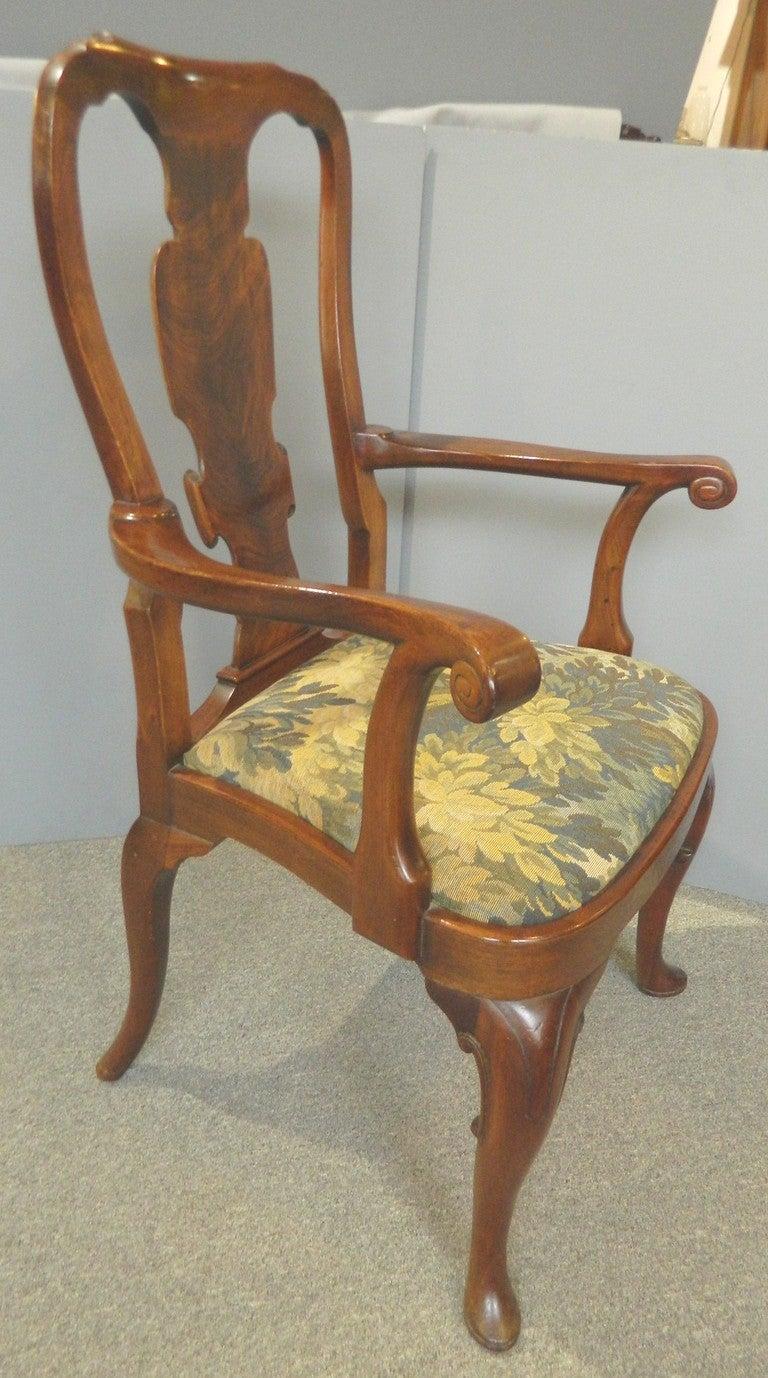 one dozen queen anne chairs
