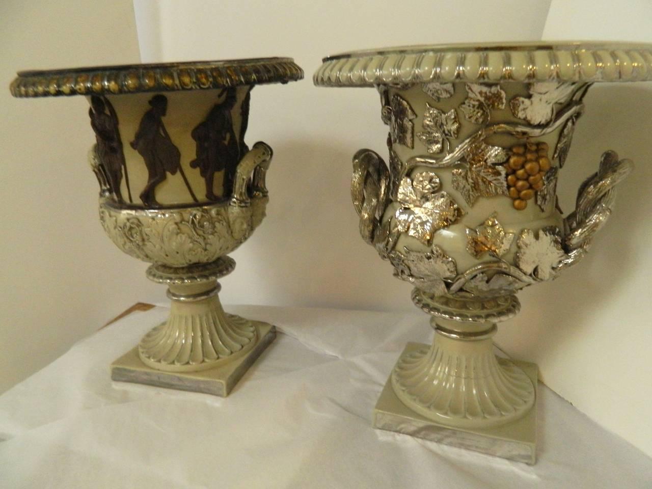 Greek revival large urn for sale at 1stdibs - Large decorative vases and urns ...