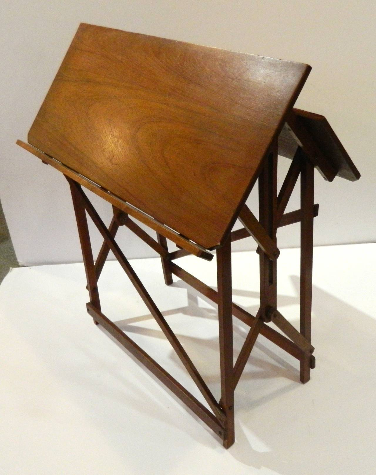 english arts and crafts folding table at 1stdibs. Black Bedroom Furniture Sets. Home Design Ideas