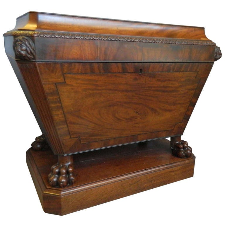 English regency period wine cooler at 1stdibs for Decor wine cooler