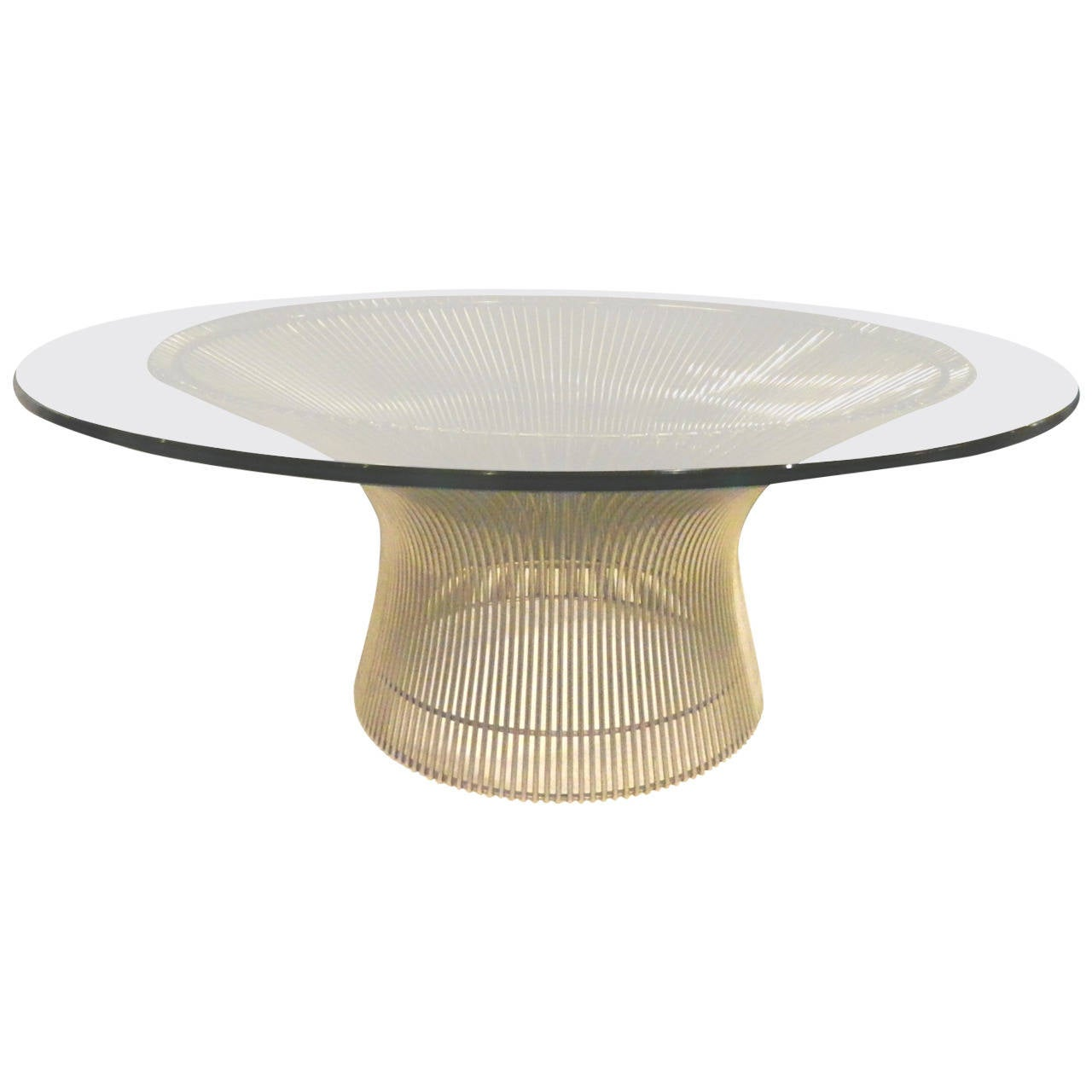 platner coffee table at 1stdibs