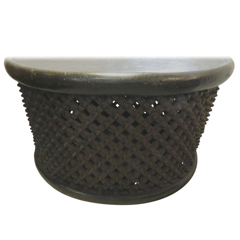 Delightful African Drum Coffee Table 1