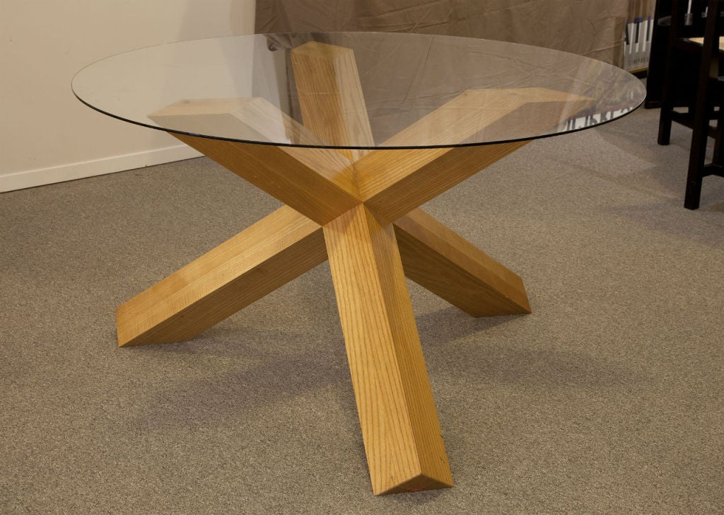 La Rotonda Table Base Designed By Mario Bellini For Cassina At 1stdibs