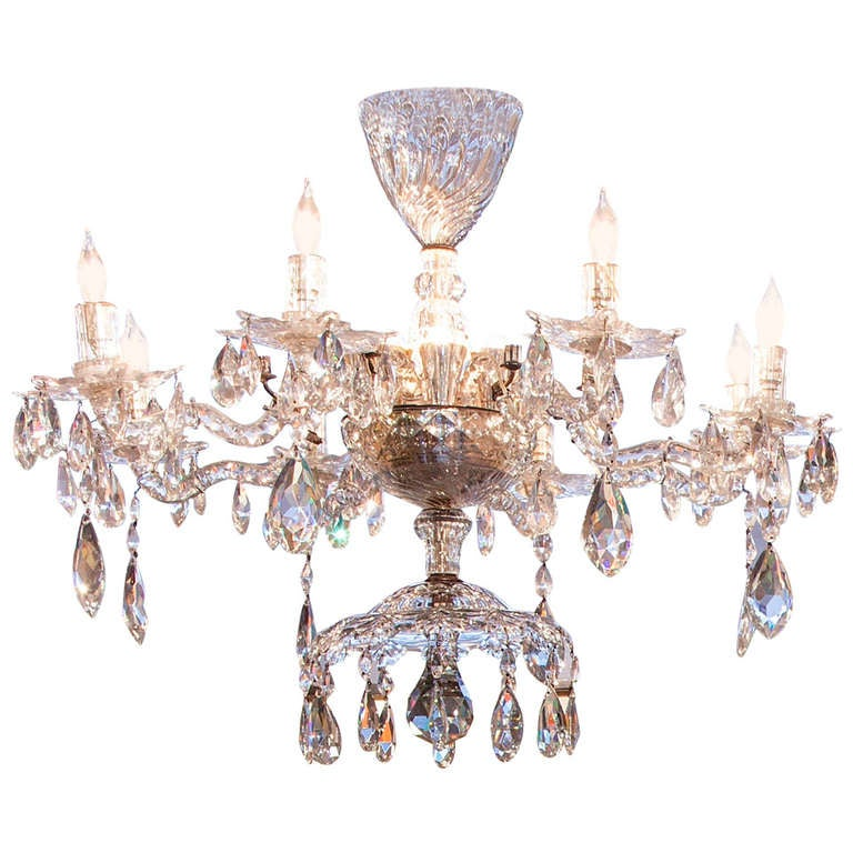 Antique Anglo Irish Chandelier 18th Century and Later For Sale at
