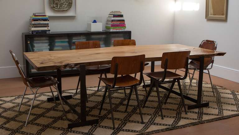 Scottish Elm Table Or Desk Of Beautiful Quality At 1stdibs