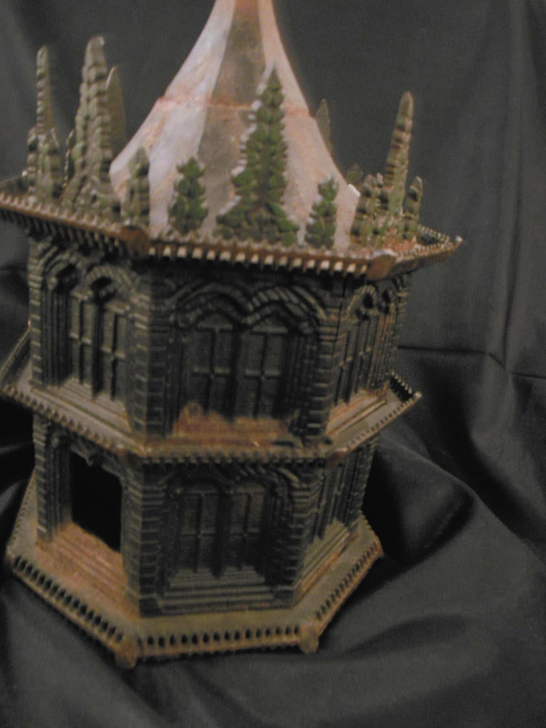 Antique Bird House Cast Iron By Miller Iron Co At 1stdibs