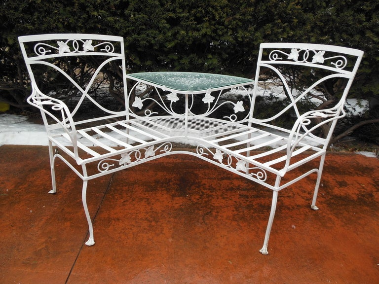 Salterini Double Chair Or Tete A Tete At 1stdibs